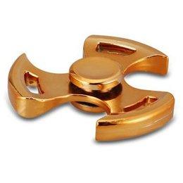 Tri Whirly Fidget Spinner Goud