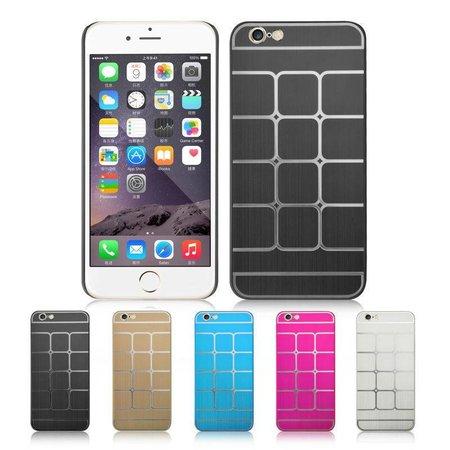 Aluminium Hardcase voor de iPhone 6 / 6S - Zilver
