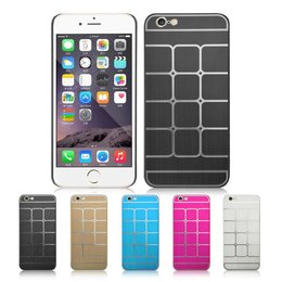 Aluminium Hardcase voor de iPhone 6 / 6S - Zwart