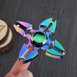 Hand Spinner / Multicolor / Vier Poot / Rainbow