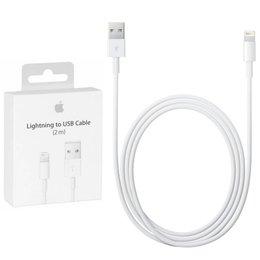 Apple 2 Stuks Origineel Lightning Connector naar USB Kabel MD819ZM/A (200CM)