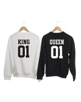 COUPLE -SWEATERS KING QUEEN PRINTTYPE ARSENIO