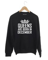 DAMES SWEATER QUEENS ARE BORN IN (MAAND)