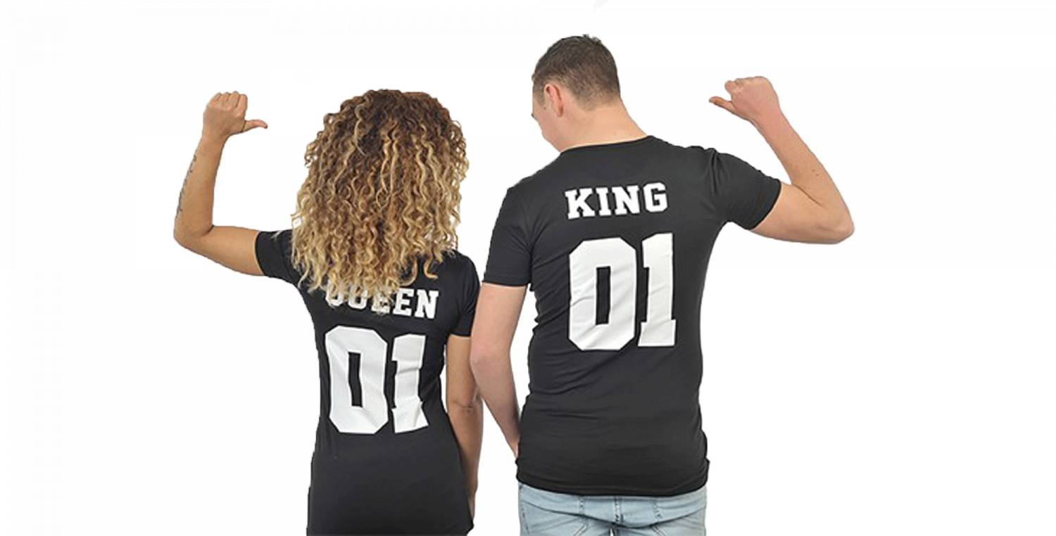 BANNER KING AND QUEEN
