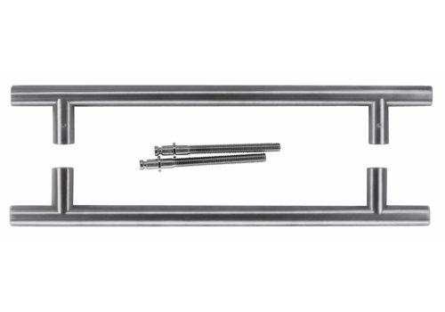 Türgriffe T 20/300/400 INOX PLUS PAIR DOOR DICKE> 3cm