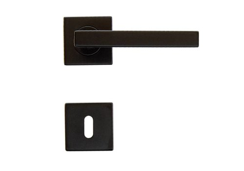 DOOR HANDLE KUBIC SHAPE BLACK