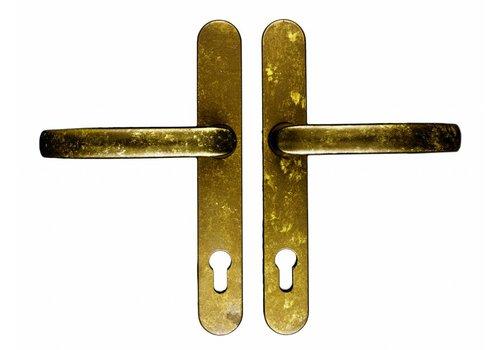 Sicherheitstürgriffe Altes gelb Safe griffe+griffe Nutengröße 92 mm