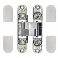 ONZICHTBAAR 3D SCHARNIER AGB ECLIPSE 3 INOX