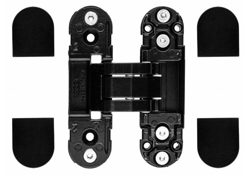 INVISIBLE 3D HINGE AGB ECLIPSE 2 BLACK