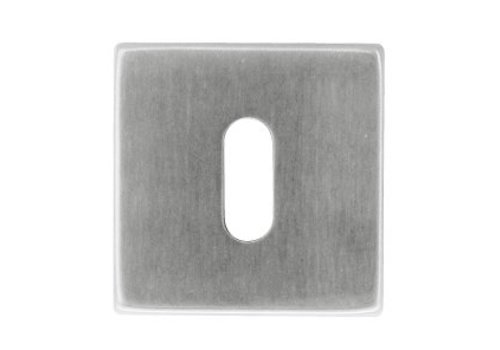 HDD 1 Sleutelplaatje Kubic shape inox plus