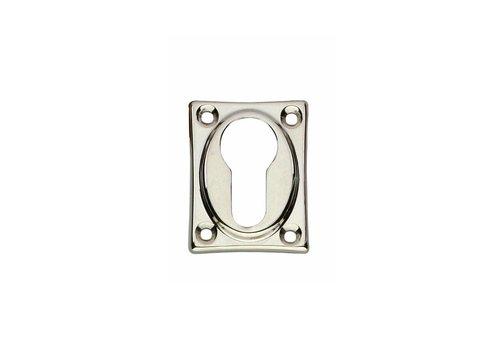 Intersteel 1 Profielcilindergat plaatje vierkant verlengd nikkel