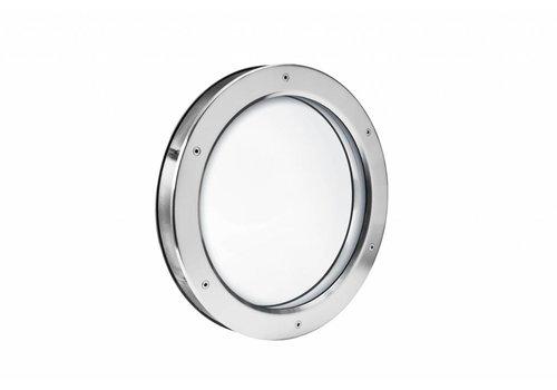 Inox Bullauge B2000 400 mm + Doppelsicherheitsglas