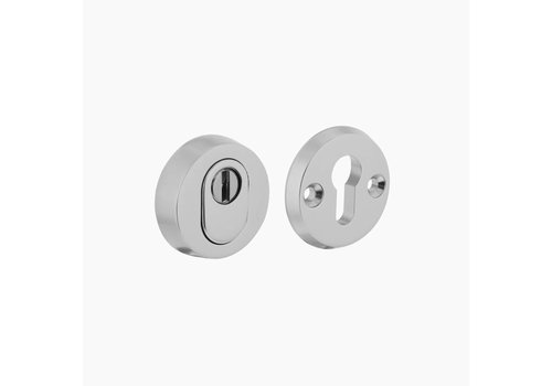 Intersteel safety escutcheon SKG3 round with core pulling protection aluminum