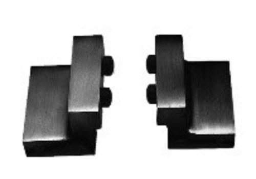 Set van 2 stoppers voor schuifdeursysteem