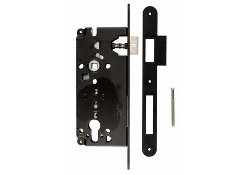 BLACK LOCK CYLINDER 85MM