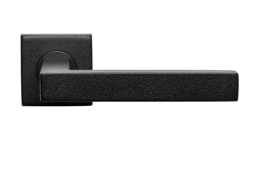 grand choix de poign es de porte noires aux meilleurs prix deurklinkenshop. Black Bedroom Furniture Sets. Home Design Ideas
