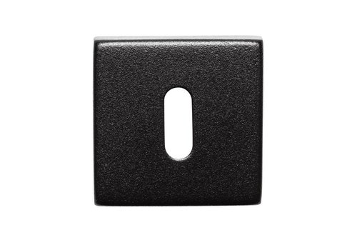 1 BLACK KEY PLATE STAINLESS SQUARE