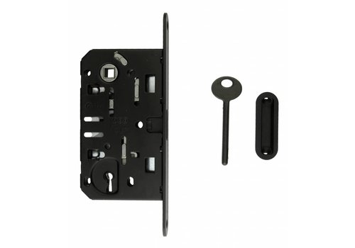 Lock magnet AGB 22mm front plate black 90mm