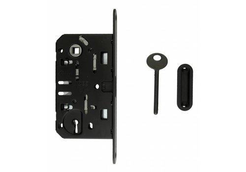 Slot magneet AGB 22mm voorplaat zwart 90mm