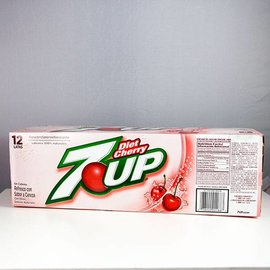 7 Up 7 Up Cherry Diet 12er Set