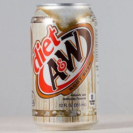 A&W A&W Root Beer diet 12er Set