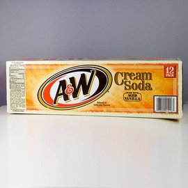 A&W A&W Cream Soda 12er Set
