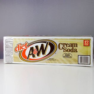 A&W A&W Cream Soda Diet 12er Set