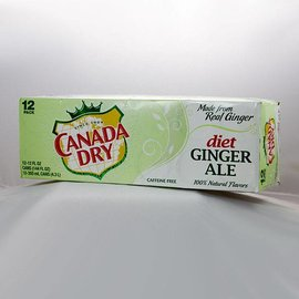Canada Dry Canada Dry diet 12er Set