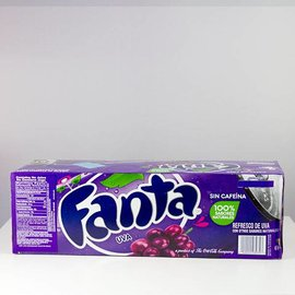 Coca Cola Fanta Grape 12er Set