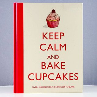 Book Keep Calm and Bake Cupcakes