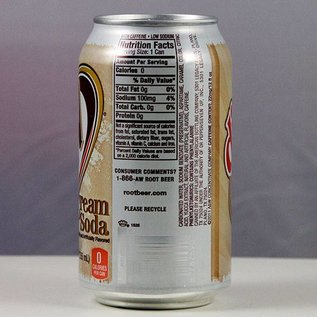 A&W A&W Cream Soda Diet