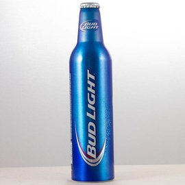 Budweiser Bud light Aluflasche
