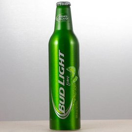 Budweiser Bud light lime Aluflasche