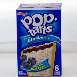 Kellogs Kellogs Pop Tarts Frosted Blueberry