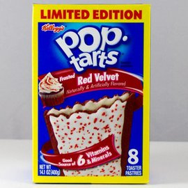 Kellogs Kellogs Pop Tarts Red Velvet