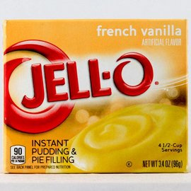 Jello Jello Instand Pudding French Vanilla