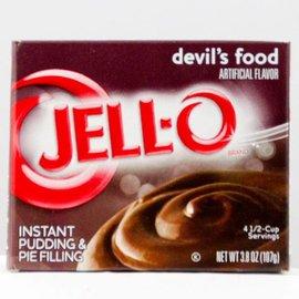 Jello Jello Instand Pudding Devil Food
