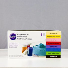 Wilton Wilton Icing Color Set 8er