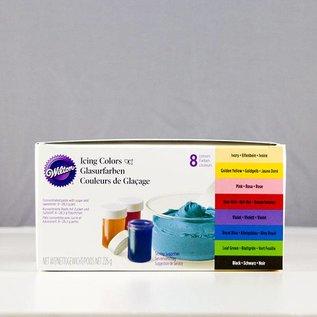Wilton Wilton Icing Color Set 8er