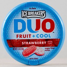 Hershey's Ice Breakers Fruit and Cool Strawberry