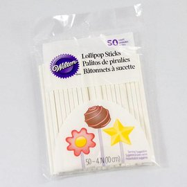 Wilton Wilton Lollipop Sticks 50 Stück