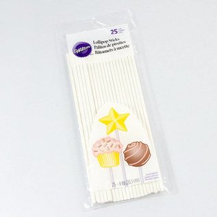 Wilton Wilton Lollipop Sticks 25 Stück