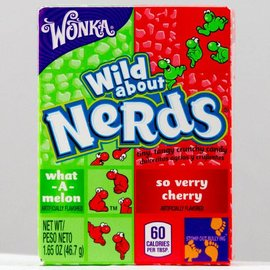 Wonka Wonka Nerds Watermelon Wild Cherry