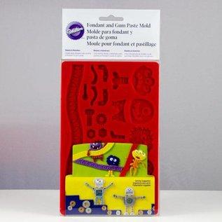 Wilton Wilton Mold Robots & Monsters