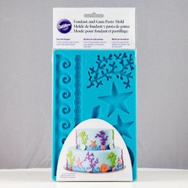 Wilton Wilton Mold Sea Life Design