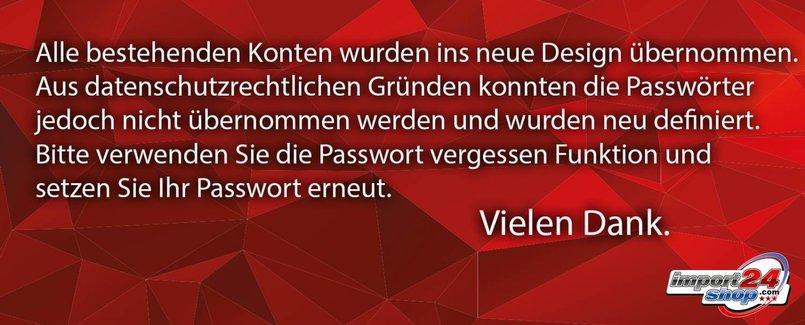 Passwortvergessen
