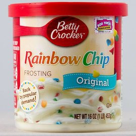 Betty Crocker Betty Crocker Vanilla Frosting Rainbow Chip Original