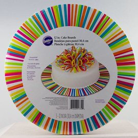 Wilton Wilton Cake Board Color Wheels 30 cm