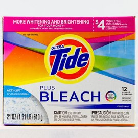 Procter & Gamble Ultra Tide Plus Bleach