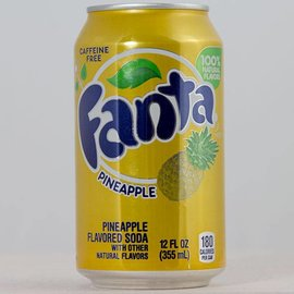 Coca Cola Fanta Pineapple